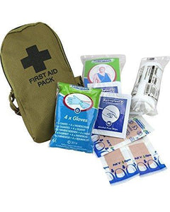 First Aid Kit - Coyote - Bear Essentials Clothing Company