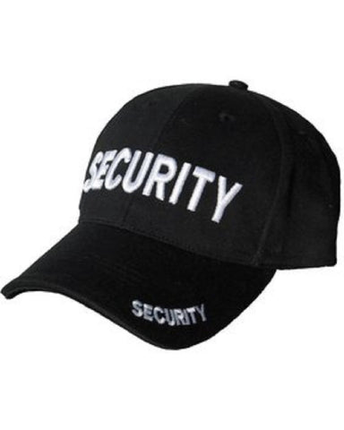 Baseball Cap - Security - Bear Essentials Clothing Company