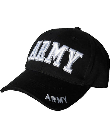 Mens Mlitary Combat Black SWAT FBI SECURITY ARMY Baseball Cap Hat Sun Visor New