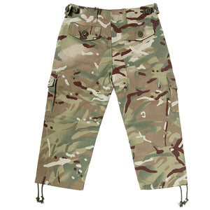 KAS Kids Quality Multi Terrain Camo Army Combat Trousers - 9/10yrs - Bear Essentials Clothing Company