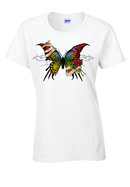 Bear Essentials Clothing. Butterfly T-Shirt - Bear Essentials Clothing Company