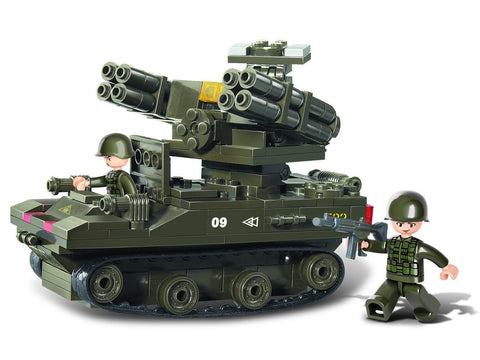 Sluban Rocket Launcher Army Building Kit (212-Piece)