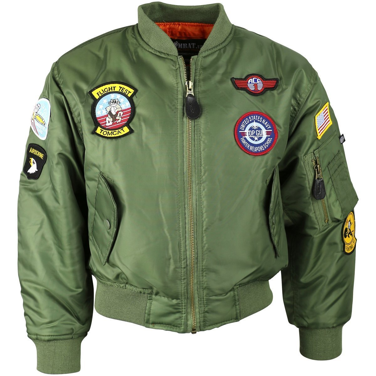 Kombat UK Children's Ma1 Flight Jacket - Bear Essentials Clothing Company