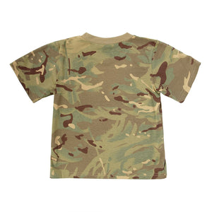 KAS Quality Kids Multi Terrain Army Camo T-Shirt - 3/4yrs - Bear Essentials Clothing Company