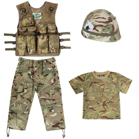 NEW Kids Army MTP Camo No1 Combo - British MTP Camouflage (5-6 years)