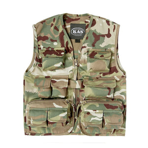 KAS ARMY CADET KIDS CAMO ACTION VEST FANCY DRESS SOLDIER - 9/10 yrs - Bear Essentials Clothing Company