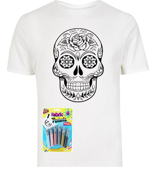 Colour In Your Own T Shirt - Bear Essentials Clothing Company