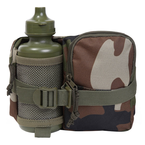 KAS Kids' Army Waistbag and Bottle, Camouflage, Large - Bear Essentials Clothing Company