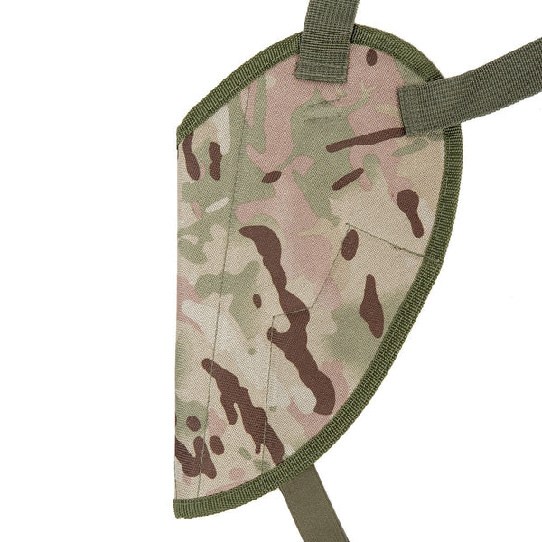 Kids Army Multi Terrain Camo Shoulder Holster - Kids MTP Camouflage Holster - Bear Essentials Clothing Company