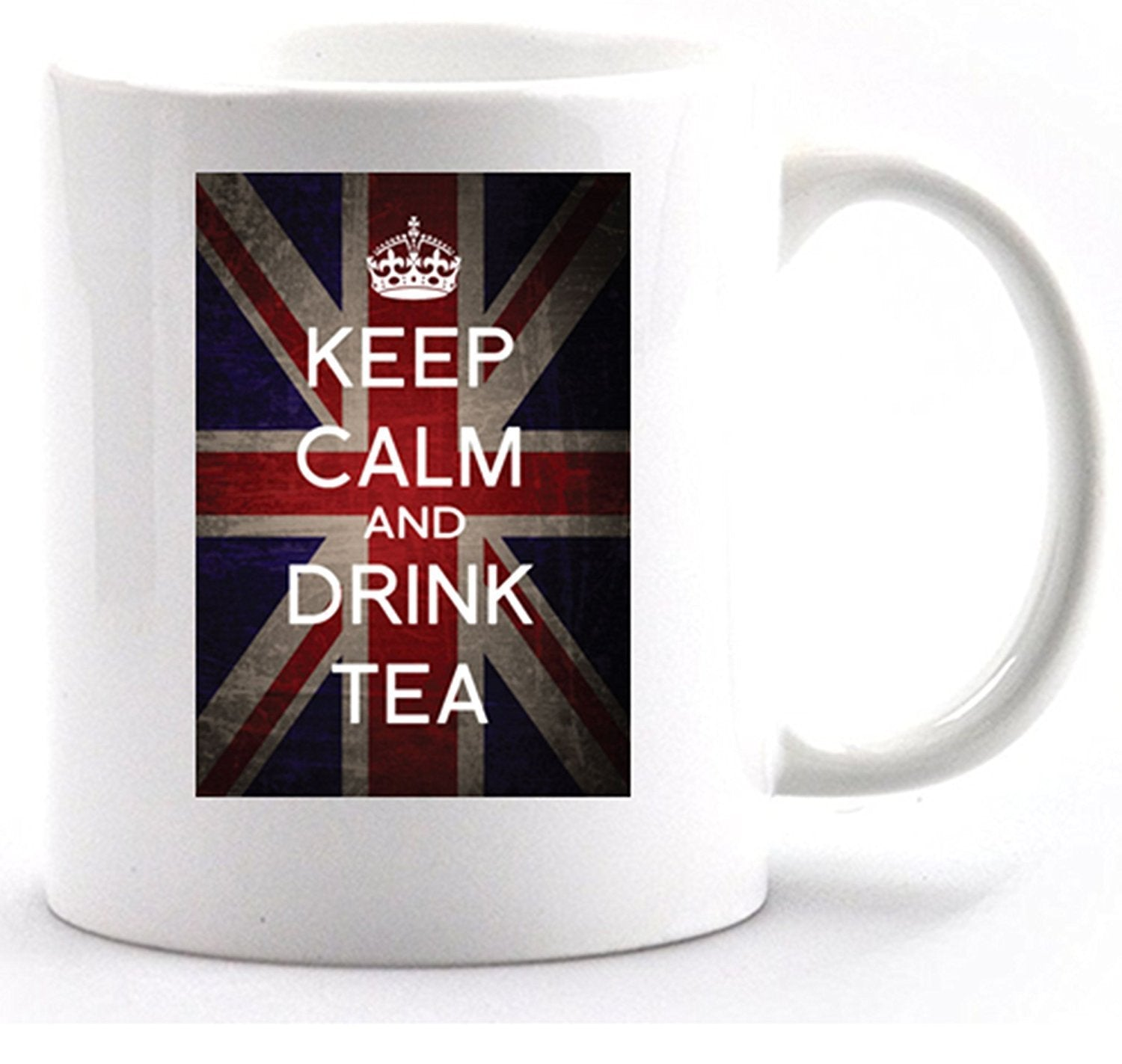 Keep Calm and drink tea mug with gift box - Bear Essentials Clothing Company