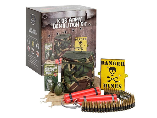 Kids Army Demolition Kit by Bear Essentials Clothing Company - Bear Essentials Clothing Company