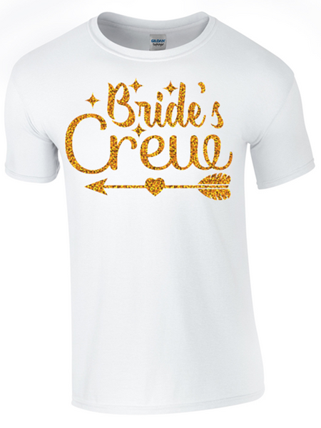 Kit Hen Party Bride and Bride Crewe T-Shirts - Bear Essentials Clothing Company