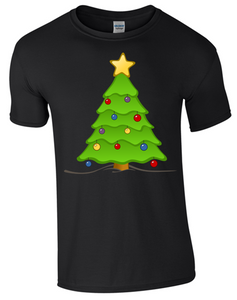 Christmas Tree T-Shirt - Bear Essentials Clothing Company