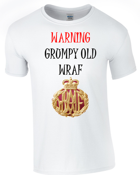 Grumpy Old WRAC T-Shirt - Bear Essentials Clothing Company