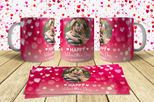 Valentine Day Mug Design 1 Just send your Photo with Order
