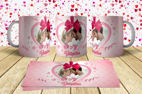 Valentine Day Mug Design 3 Just send your Photo with Order