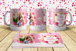 Valentine Day Mug Design 6 Just send your Photo with Order