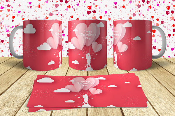 Valentine Day Mug Design 2