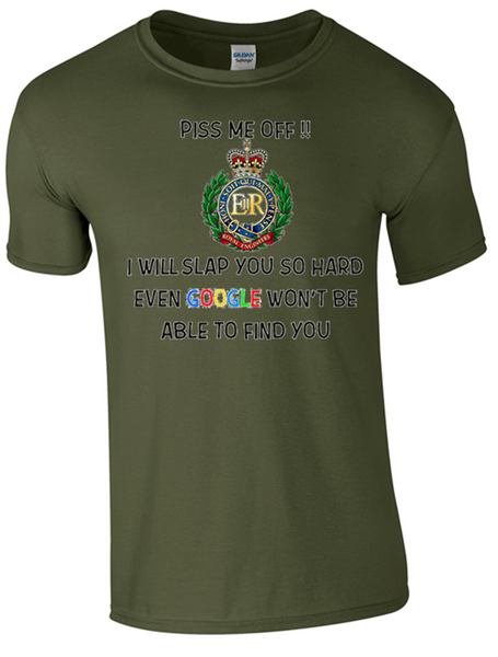Royal Engineer Military Pi. Me Off T-Shirts Ministry of Defence Official MOD Approved Merchandise