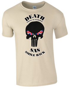 SAS  T-shirt  Sand Official MOD Approved Merchandise