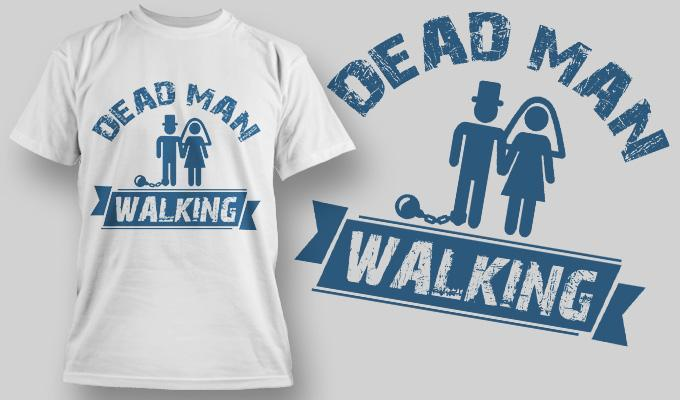 Dead Man Walking Stag and Hen Party - Bear Essentials Clothing Company