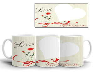 Valentine Day Mug Design 11 Just send your Photo with Order