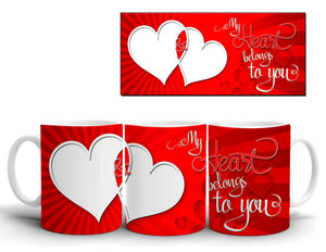 Valentine Day Mug Design 12 Just send your Photo with Order