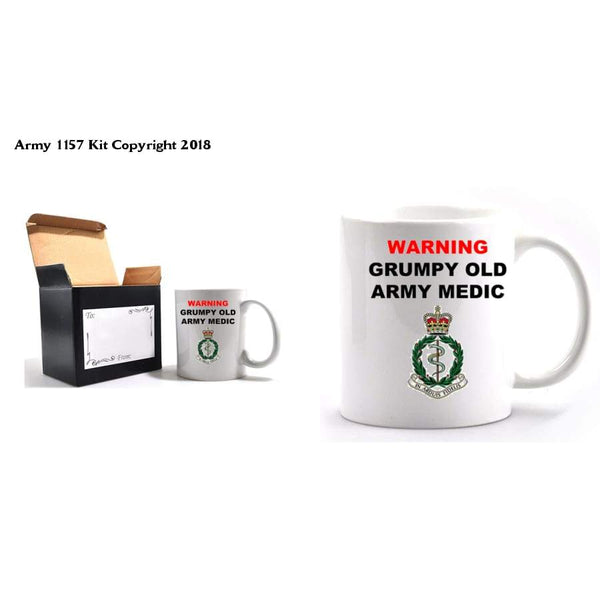 Grumpy Army Medics Mug and box set - Bear Essentials Clothing Company