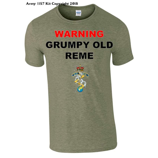 Grumpy Old REME T-Shirt - Bear Essentials Clothing Company