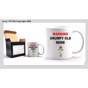 Grumpy REME Mug - Bear Essentials Clothing Company