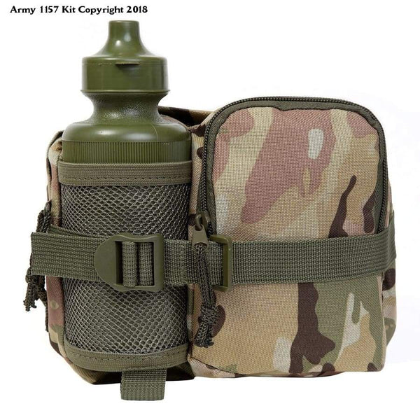 KAS Kids' Army Mtb Waistbag and Bottle, Mtp Camouflage, Large - Bear Essentials Clothing Company