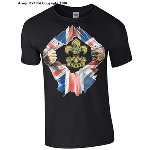 Kings Regiment T-Shirt - Bear Essentials Clothing Company