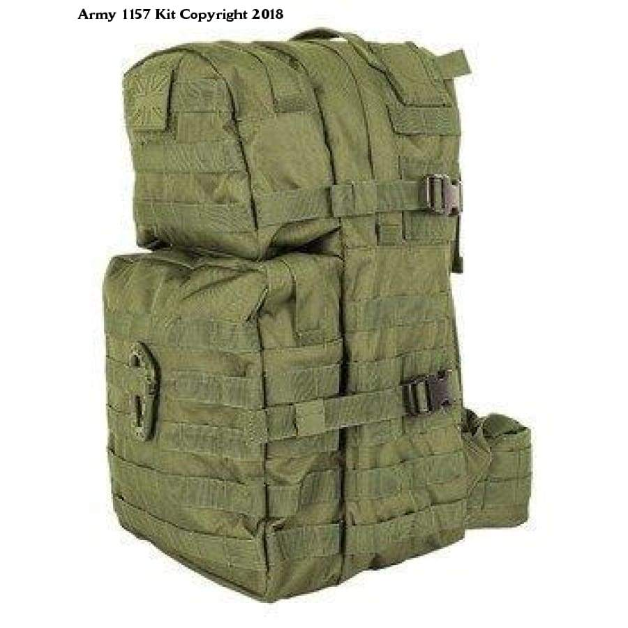 Kombat Molle Assault Pack 40 Litre Medium Olive Green - 40L / Olive Green / 1 - Sports