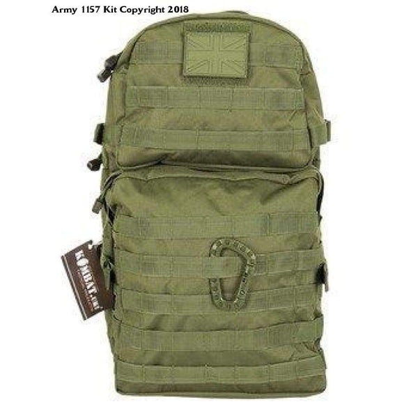 Kombat Molle Assault Pack 40 Litre Medium Olive Green - Sports