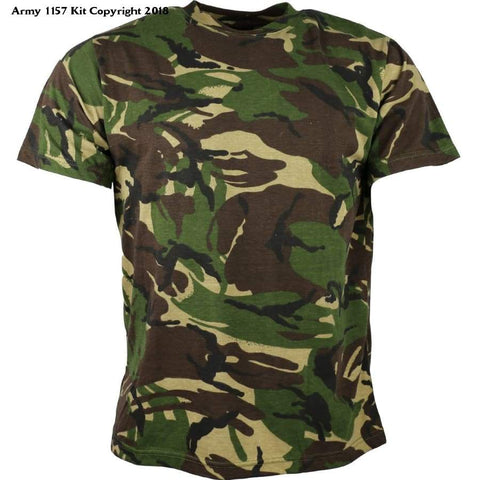 Kombat Uk Mens Adult Camo T-Shirts - 3X-Large / Dpm Camo - Sports