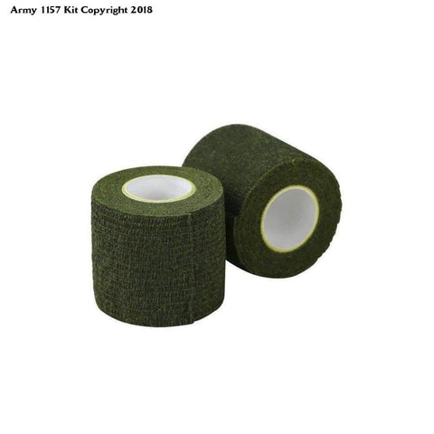 Kombat Uk Stealth Tape - Olive Green - Sports