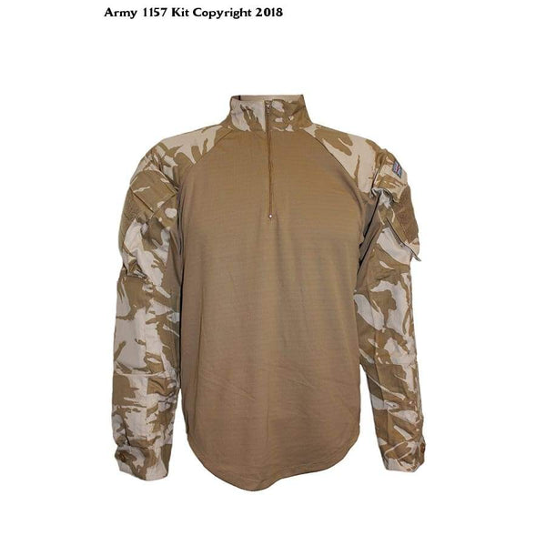 Mfh Under Body Armour Shirt Dpm Desert - Polyester Cotton / X-Large / Dpm Desert - Sports
