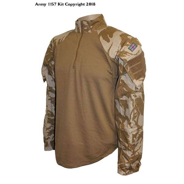 Mfh Under Body Armour Shirt Dpm Desert - Sports