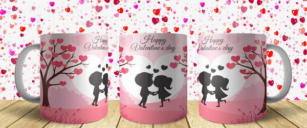 Valentine Day Mug Design 8