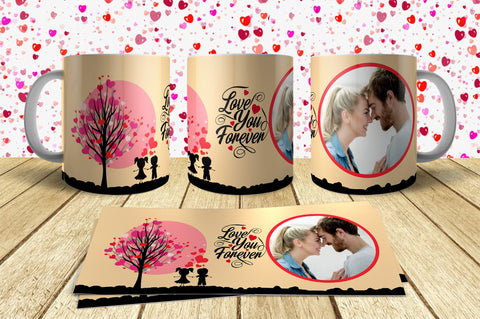 Valentine Day Mug Design 9 Just send your Photo with Order