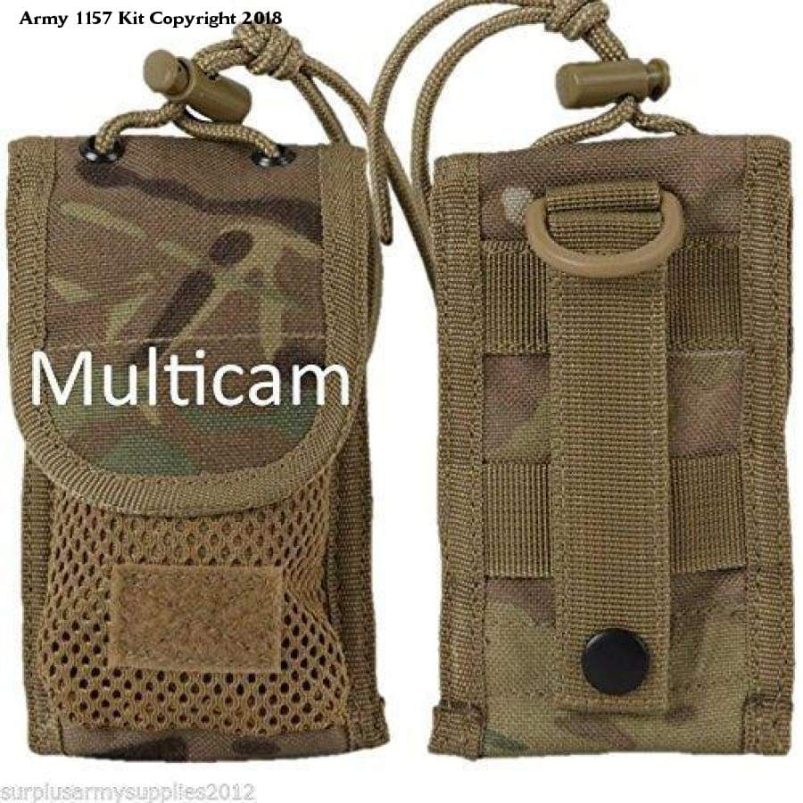 Mtp Army Cadet Phone Case Multicam Ipod Holder Webbing Military Field Webbing Pouch - Sports