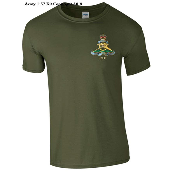 Official Mod Approved Merchandise 103 Regiment Of Artillery T-Shirt - S - T Shirt
