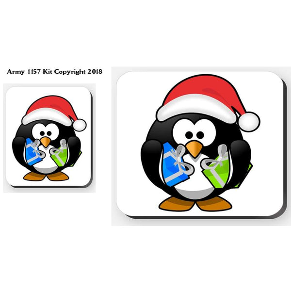 Penguin - Placemat. Part Of The Army 1157 Kit Christmas Collection - Tableware