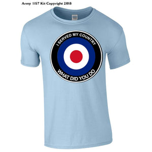 Raf What Did You Do T-Shirt - S / Blue - T Shirt