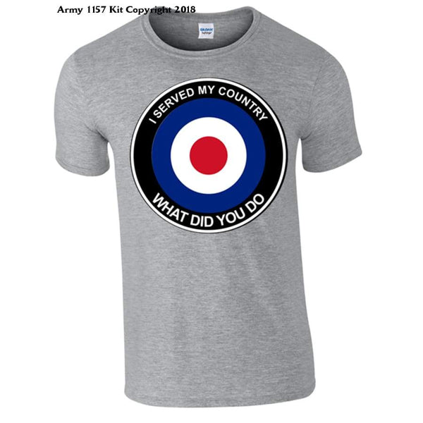 Raf What Did You Do T-Shirt - S / Grey - T Shirt