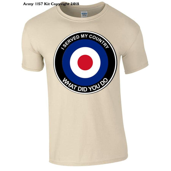 Raf What Did You Do T-Shirt - S / Sand - T Shirt