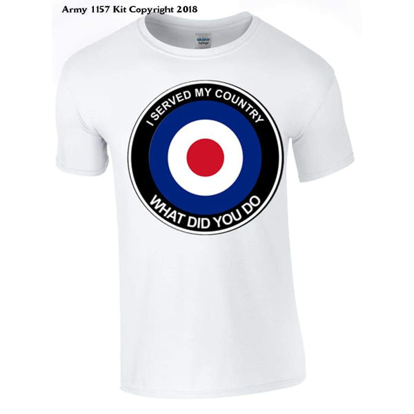 Raf What Did You Do T-Shirt - S / White - T Shirt