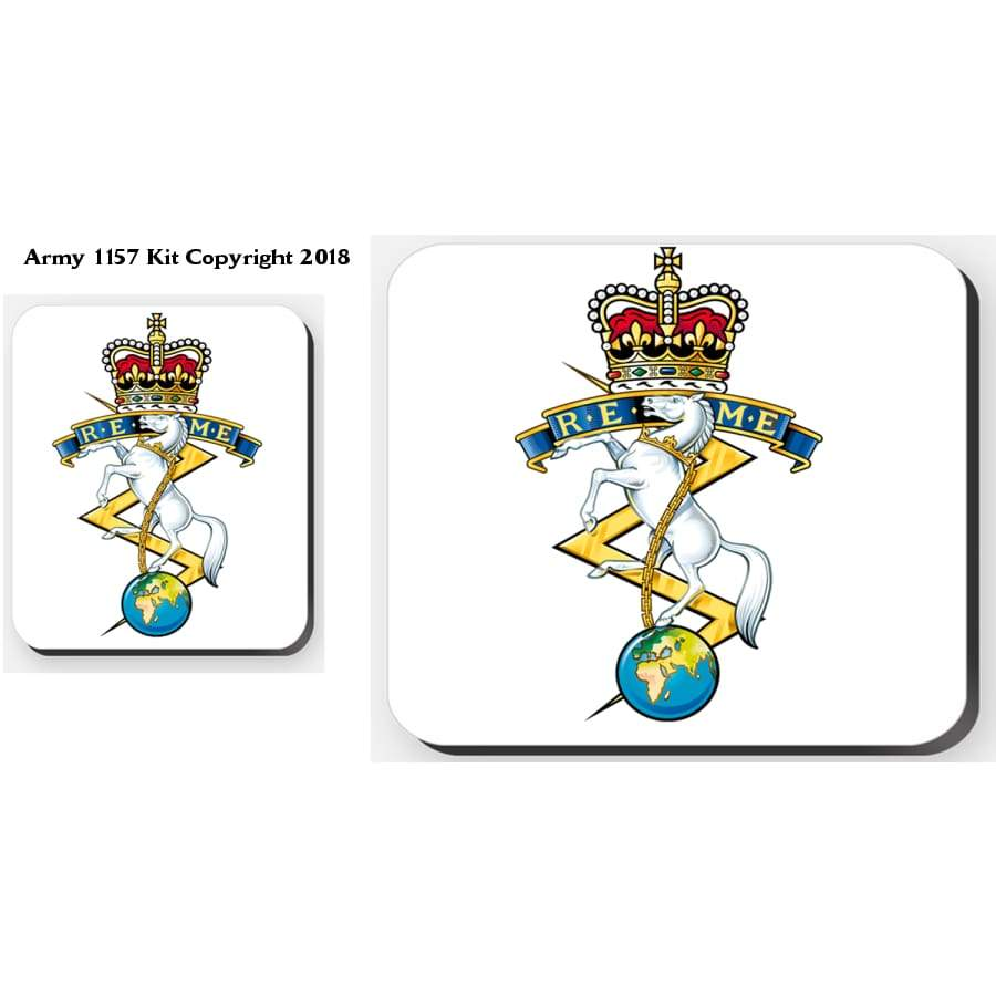 Reme 4 Placemats And 4 Coasters Set Official Mod Approved Merchandise - Tableware