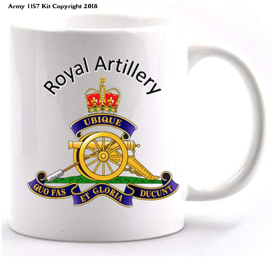 Royal Artillery Mug And Gift Box Set Official Mod Approved Merchandise - Home