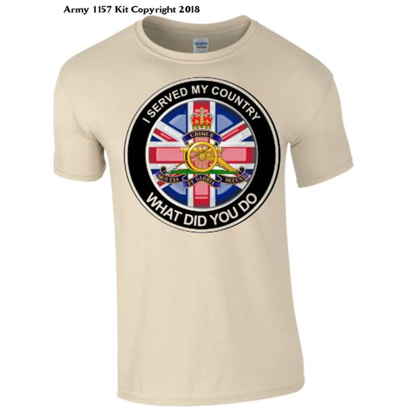 Royal Artillery - S / I Served